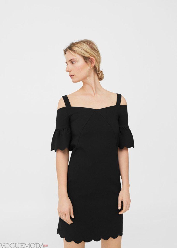 платье с окантовкой 2019 2020 года