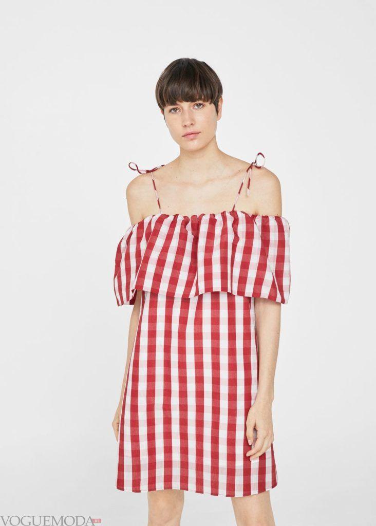 платье в полоску 2021