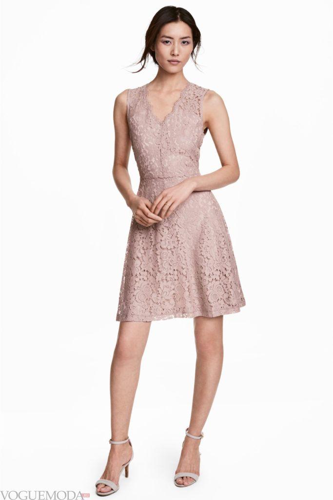 платье 2019 2020 лиловое модное
