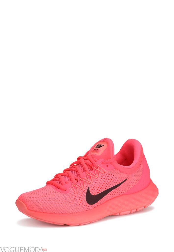 кроссовки розовые кислотные
