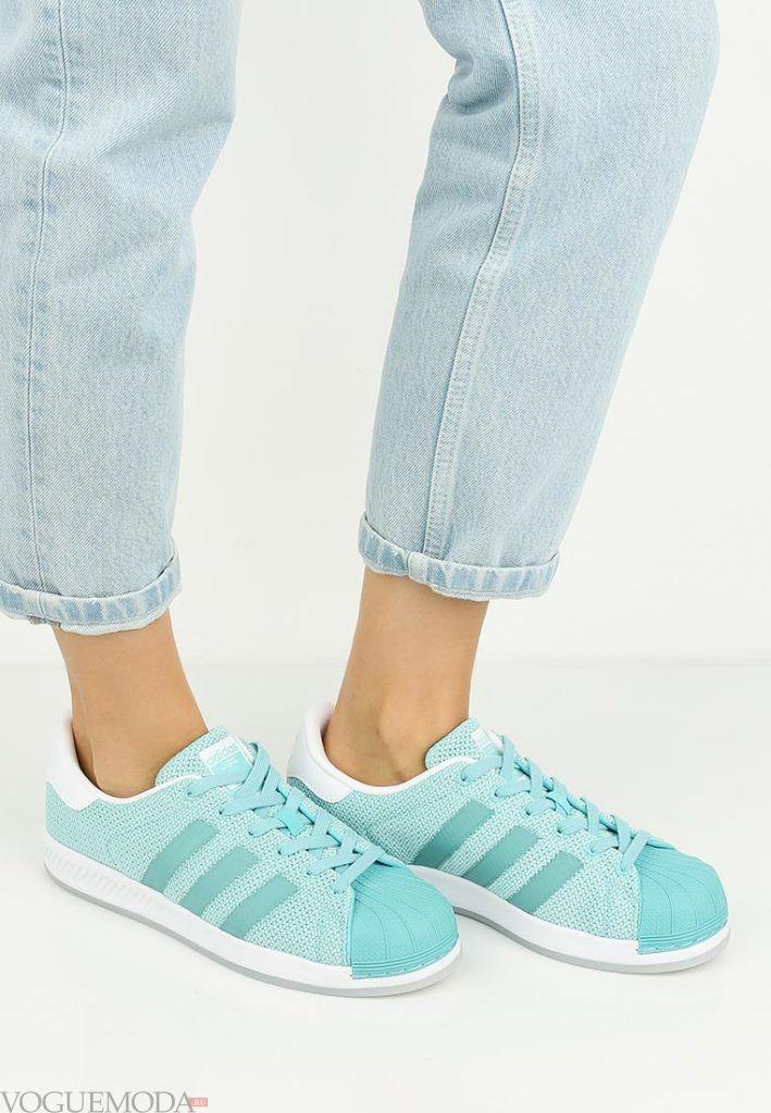 бирюзовые кроссовки