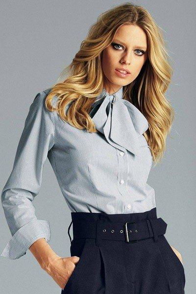 модная женская рубашка 2017 2018 с декором