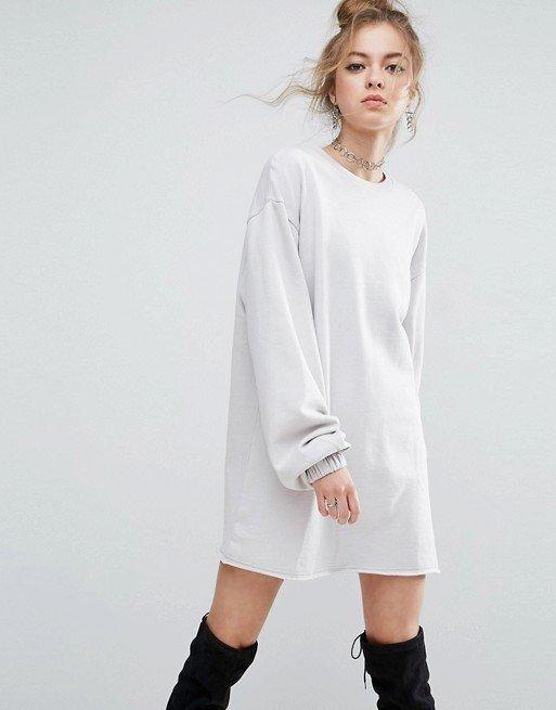 каждодневное платье белое