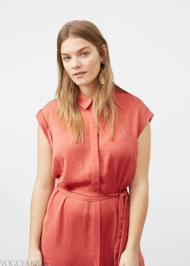 платье рубашка на каждый день