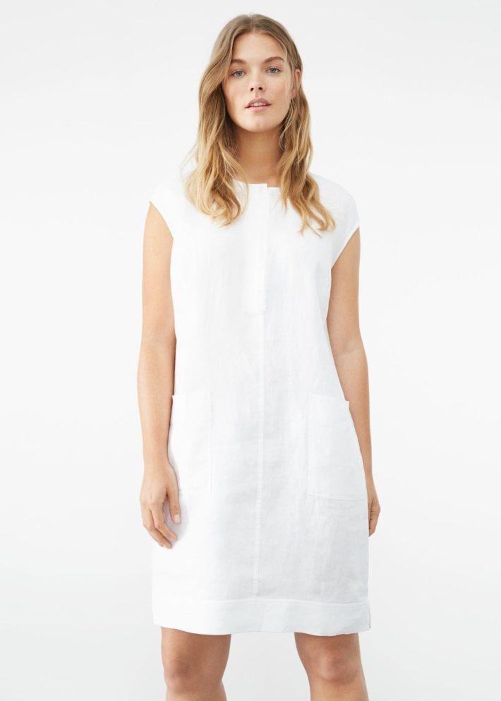 платье белое на каждый день