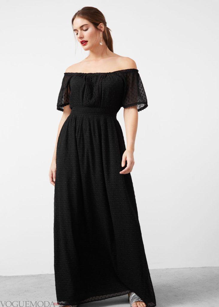 платье на каждый день длинное