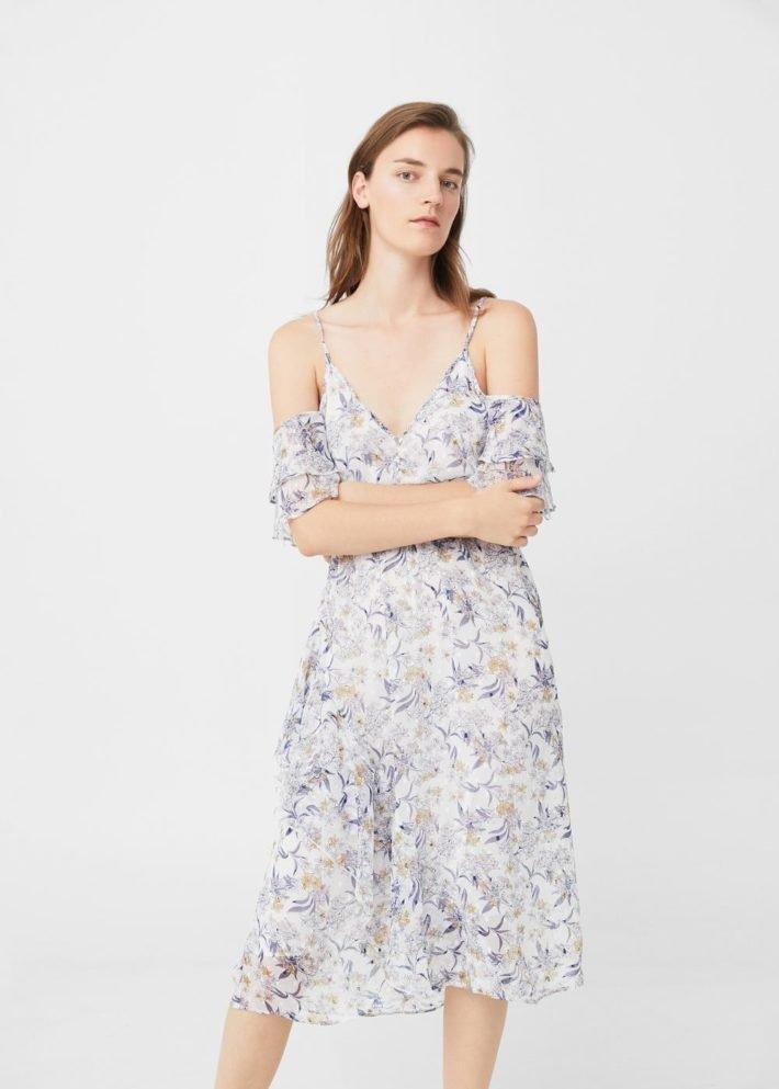 Платья на каждый день 2021: цветочное