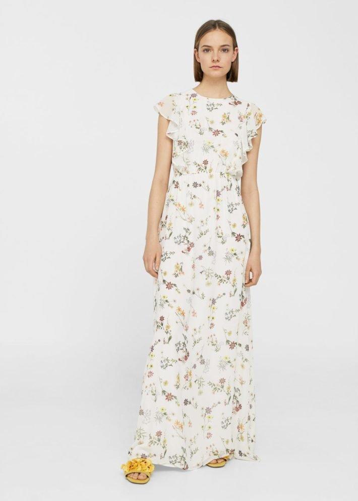 модные платья на каждый день: длинное
