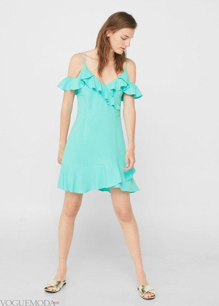 платье бирюзовое на каждый день