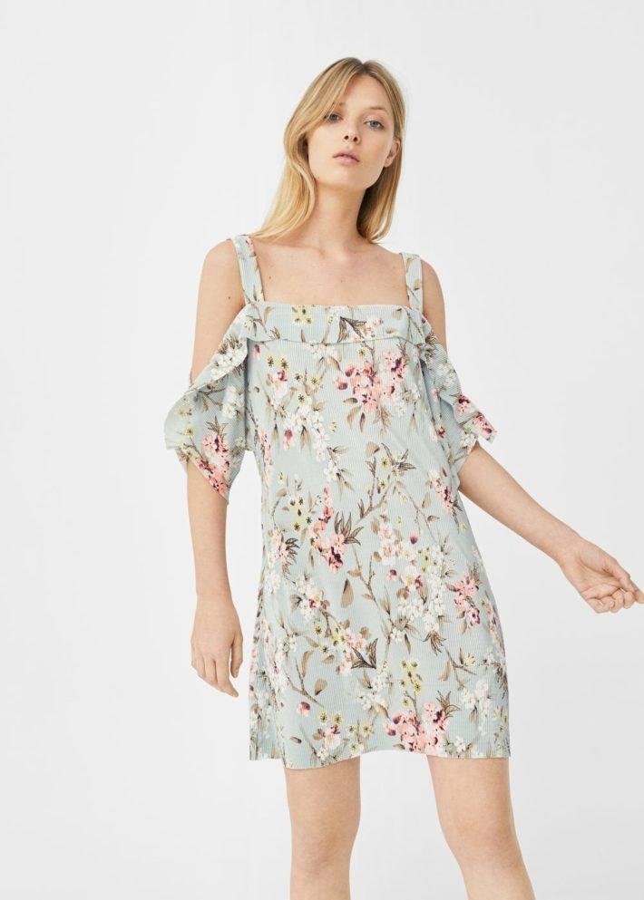 модные платья на каждый день: с рукавчиком