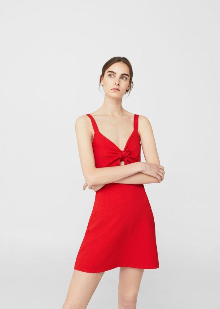 модные платья на каждый день: на бретелях