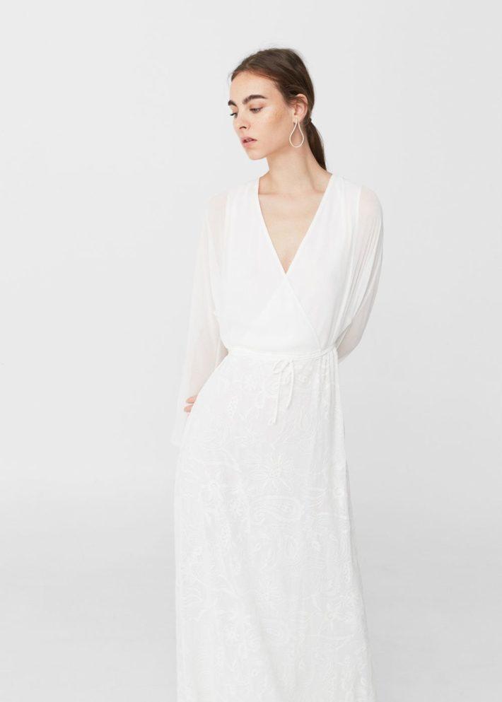 платье с запахом на каждый день