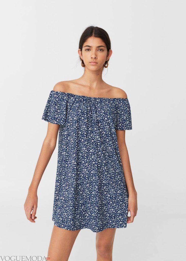 платье на каждый день с принтом