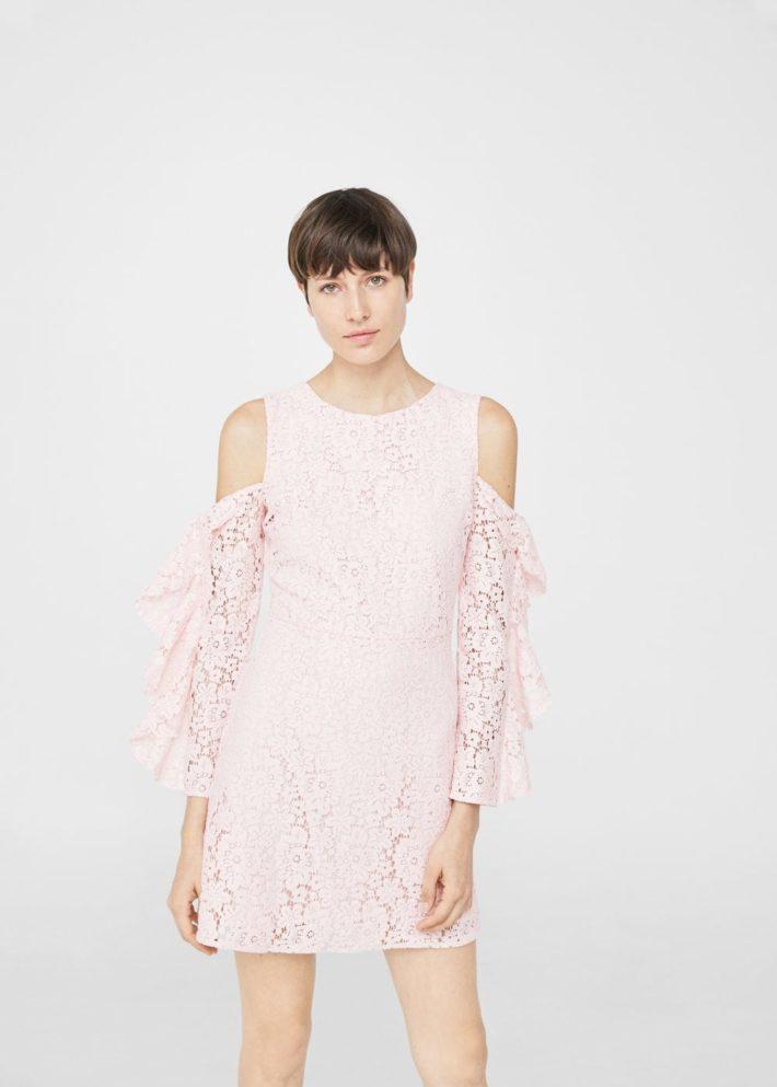 модные платья на каждый день: розовое
