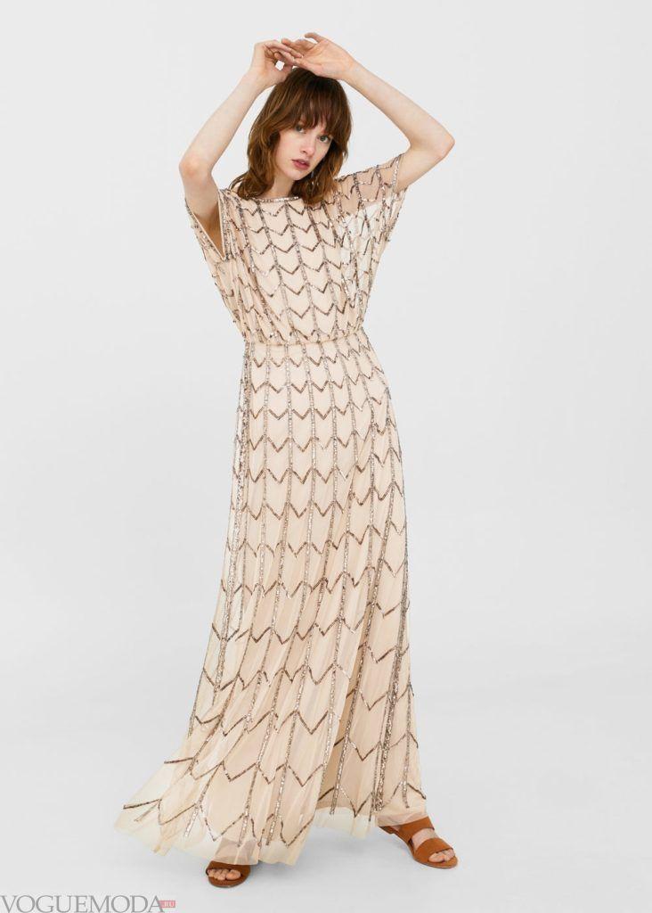 платье с линиями 2019 2020