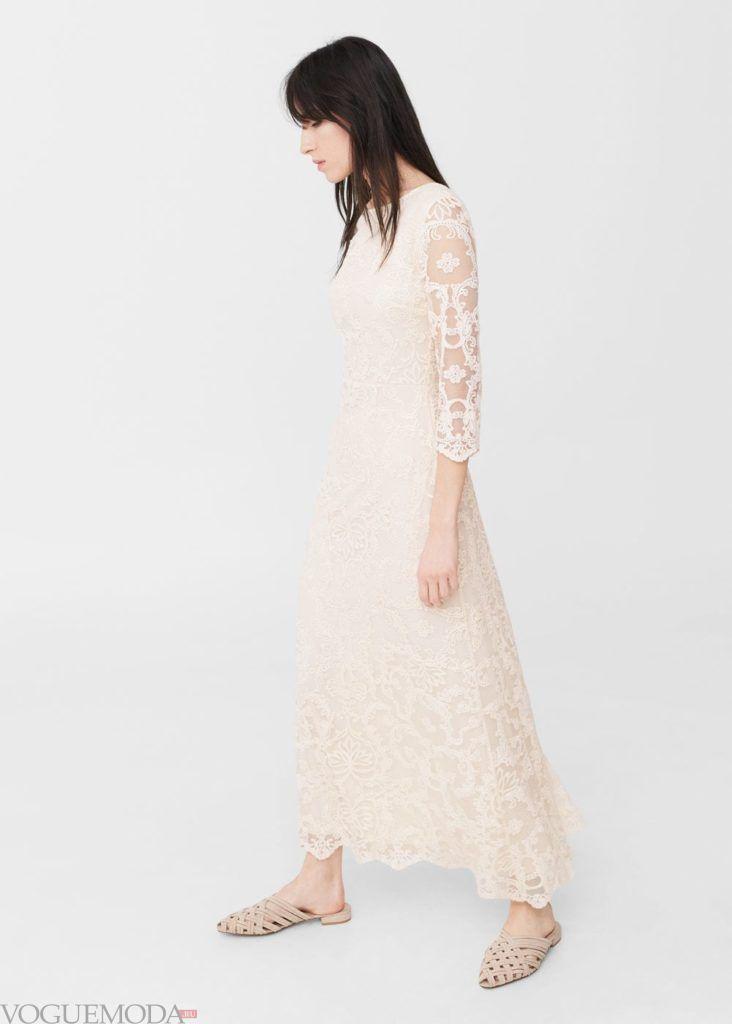 платье кружевное 2019 2020 года