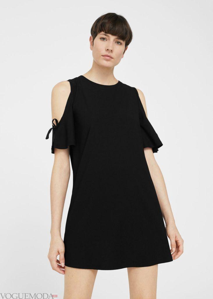 платье с завязками 2019 2020 года