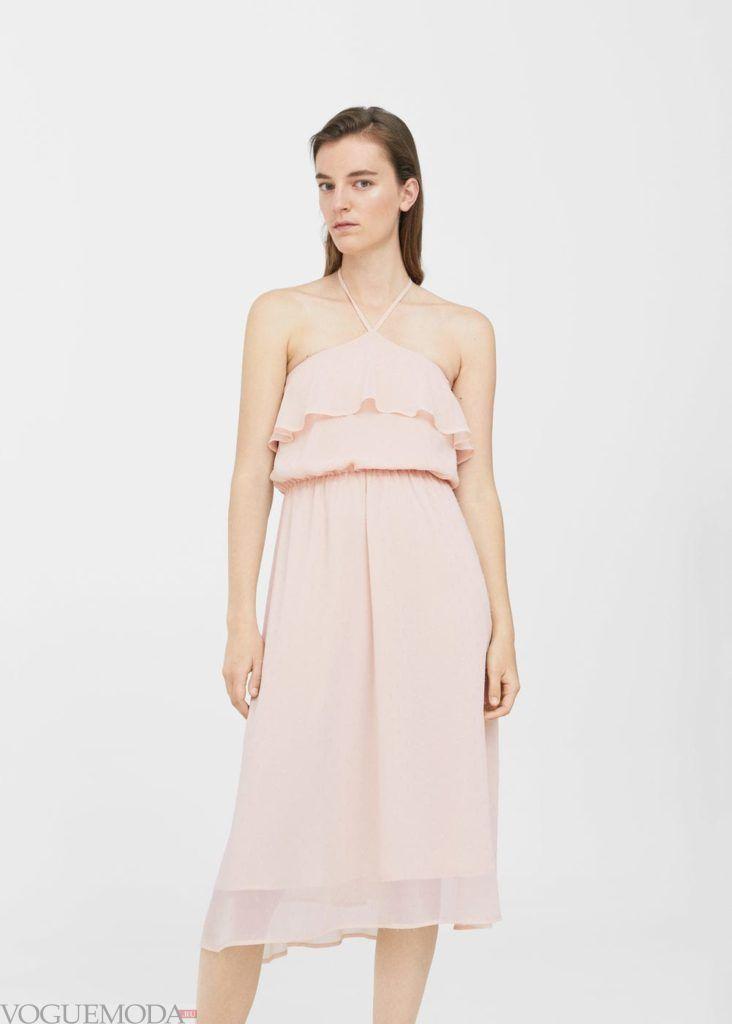платье 2019 2020 светлое