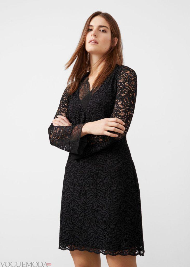 платье кружево мода 2019 2020