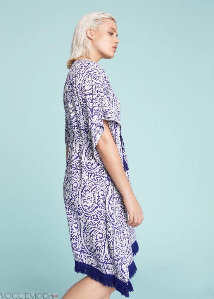 платье с орнаментом мода 2019 2020