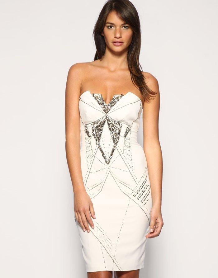 модное платье 2021 с узором