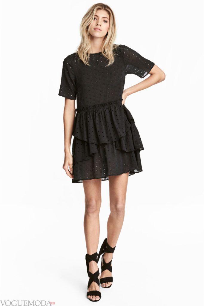 платье многослойное 2020
