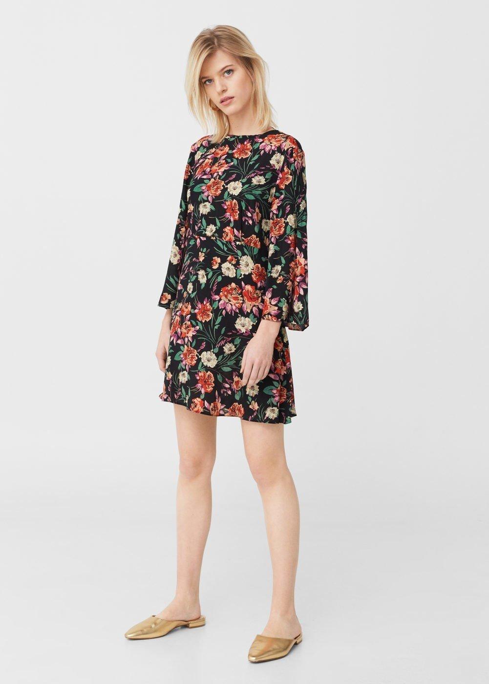 Цветок на платье 2018 фото