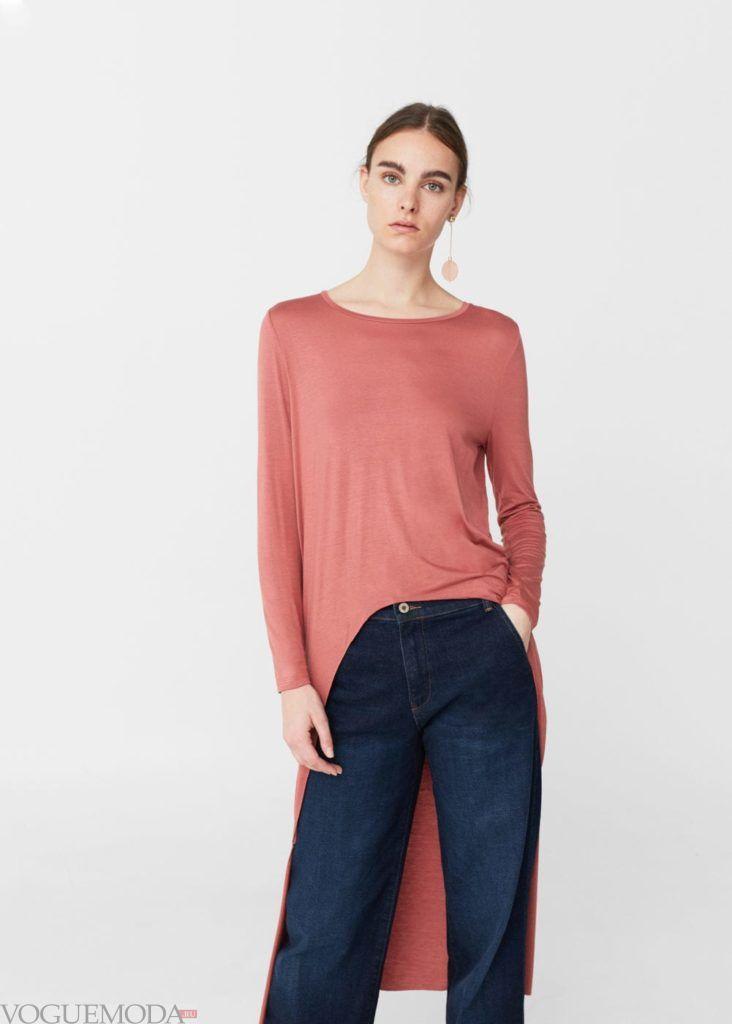базовые вещи для женского гардероба: туника длинная