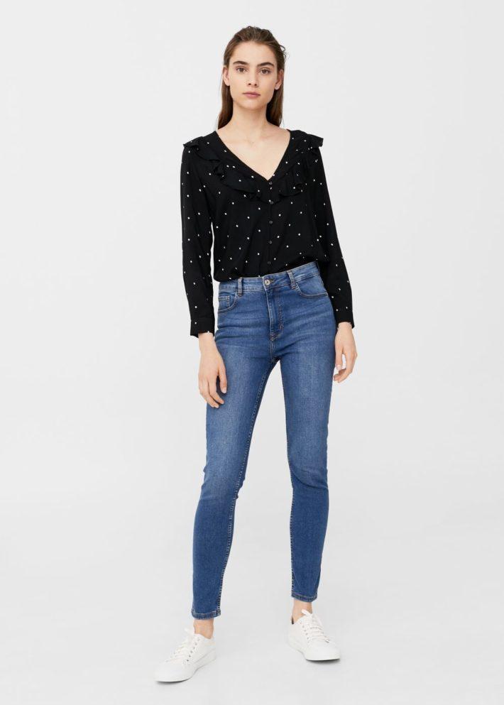 базовый гардероб 2019 2020: синие джинсы