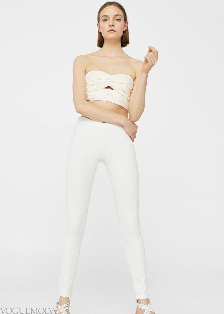 базовый гардероб брюки белые