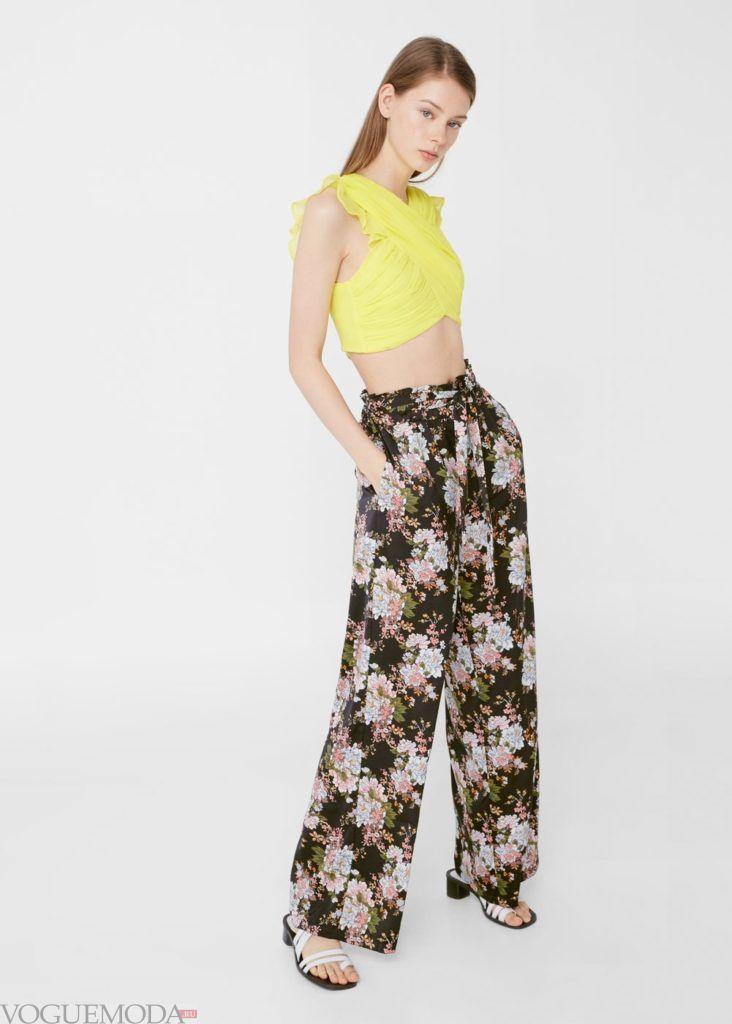 базовый гардероб брюки цветные