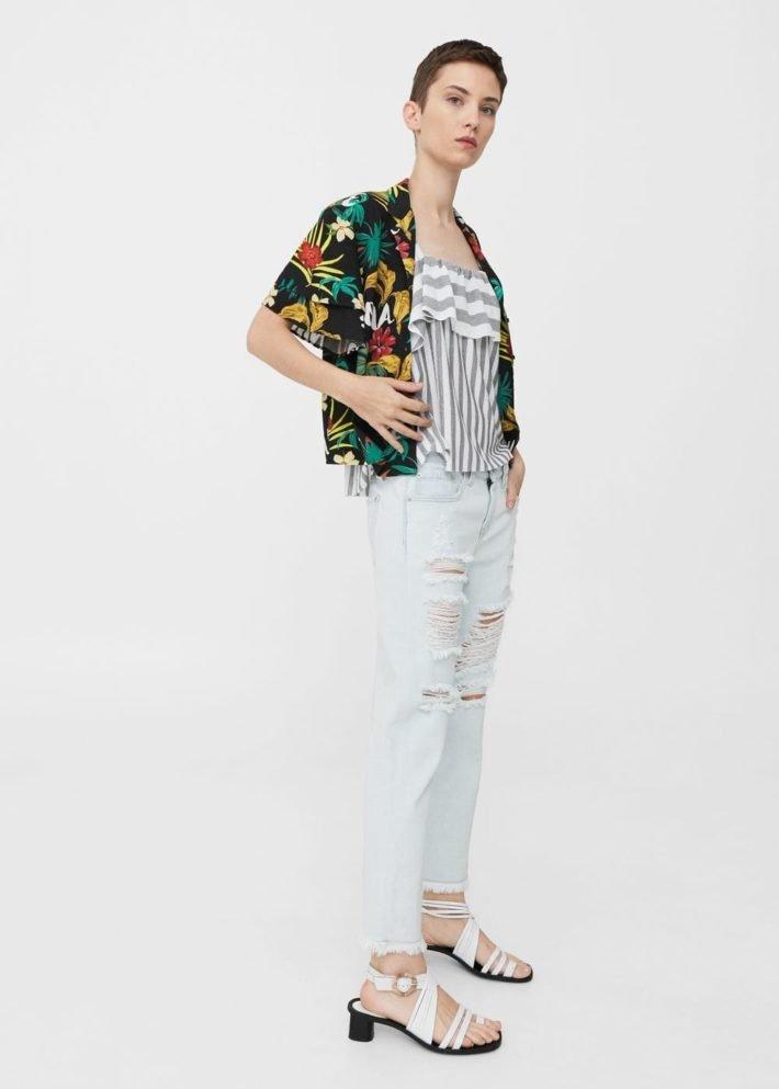 базовый гардероб 2019 2020: светлые джинсы