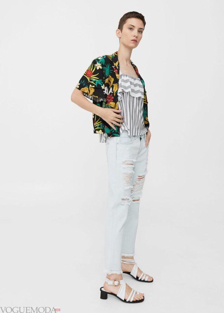 базовый гардероб светлые джинсы