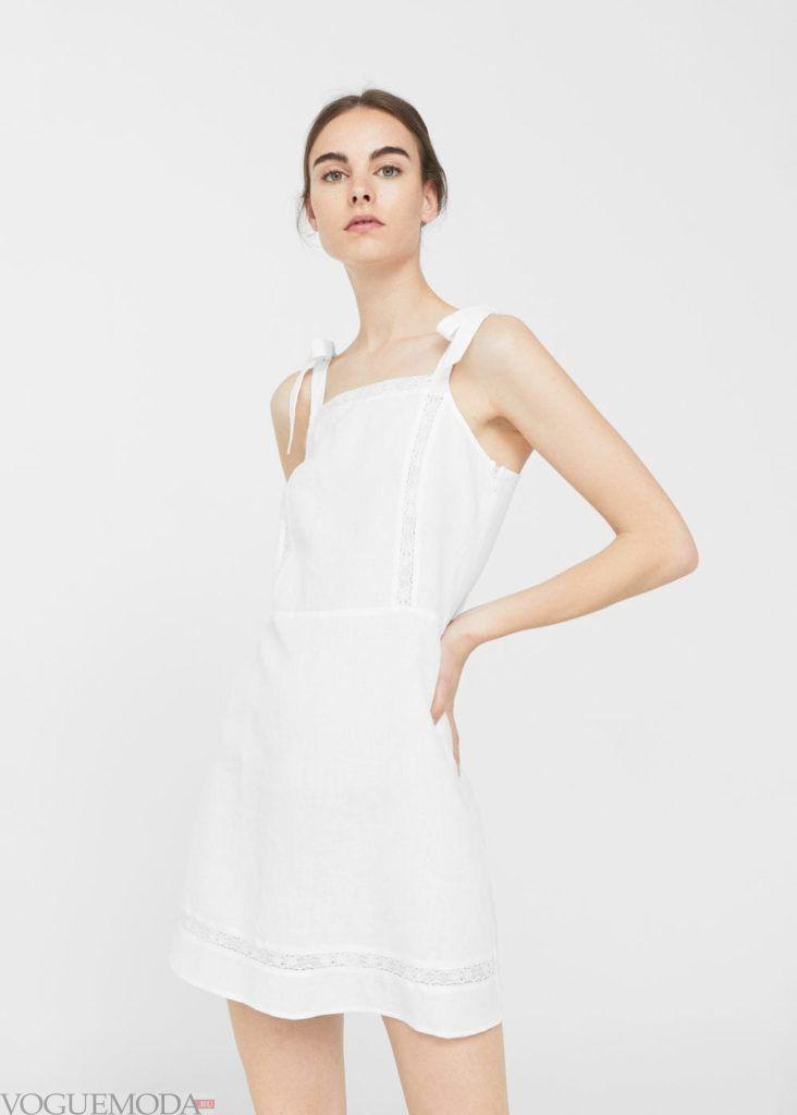 базовый гардероб платье на бретелях