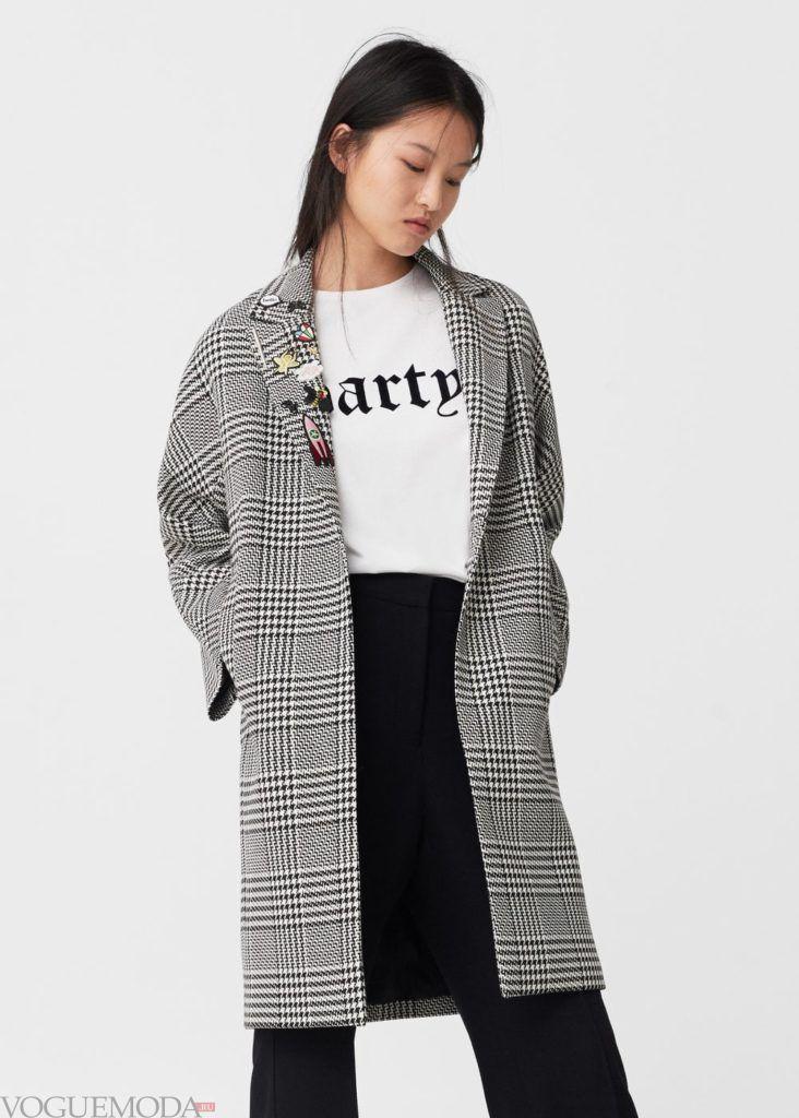 базовый гардероб пальто за колено