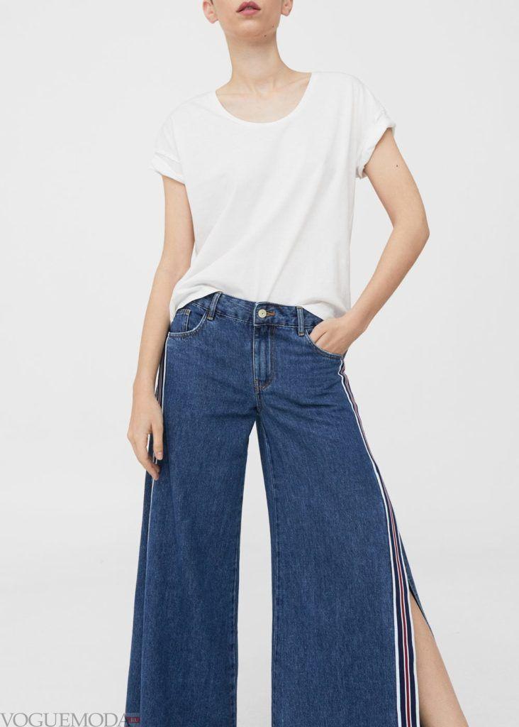 базовый гардероб 2019 2020: джинсы расклешенные