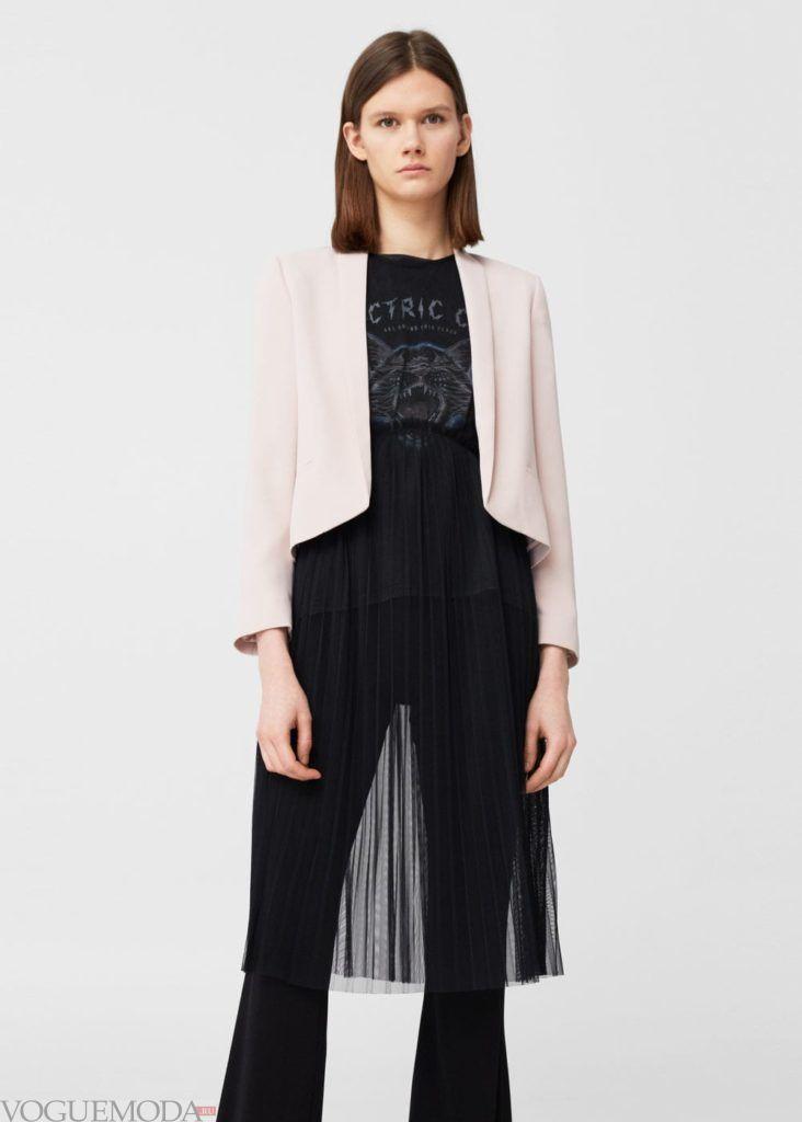 базовый гардероб пиджак удлиненный