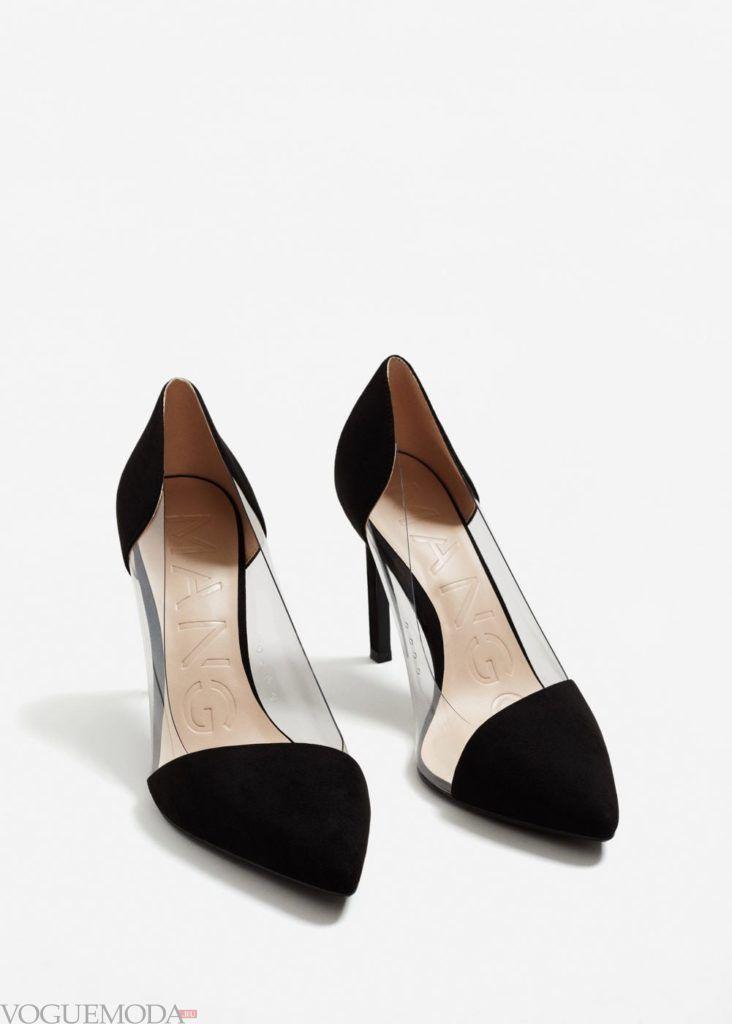 базовый гардероб туфли чёрные
