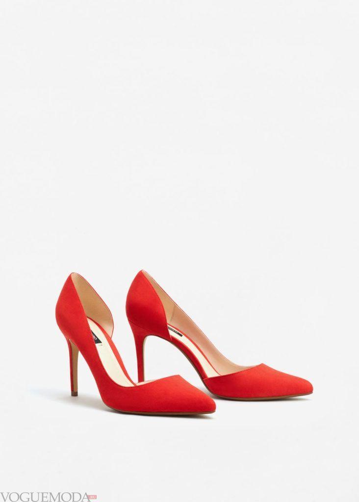 базовый гардероб туфли красные