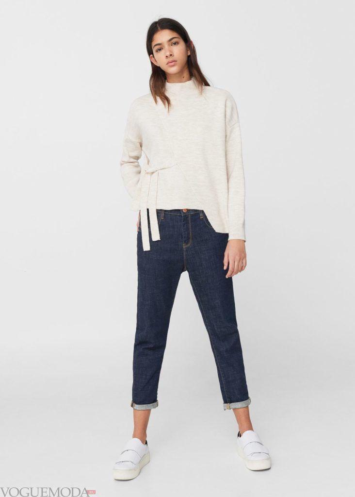 базовый гардероб джинсы укороченные