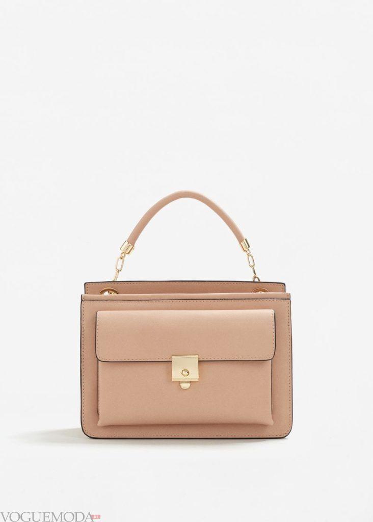 базовый гардероб сумка беж