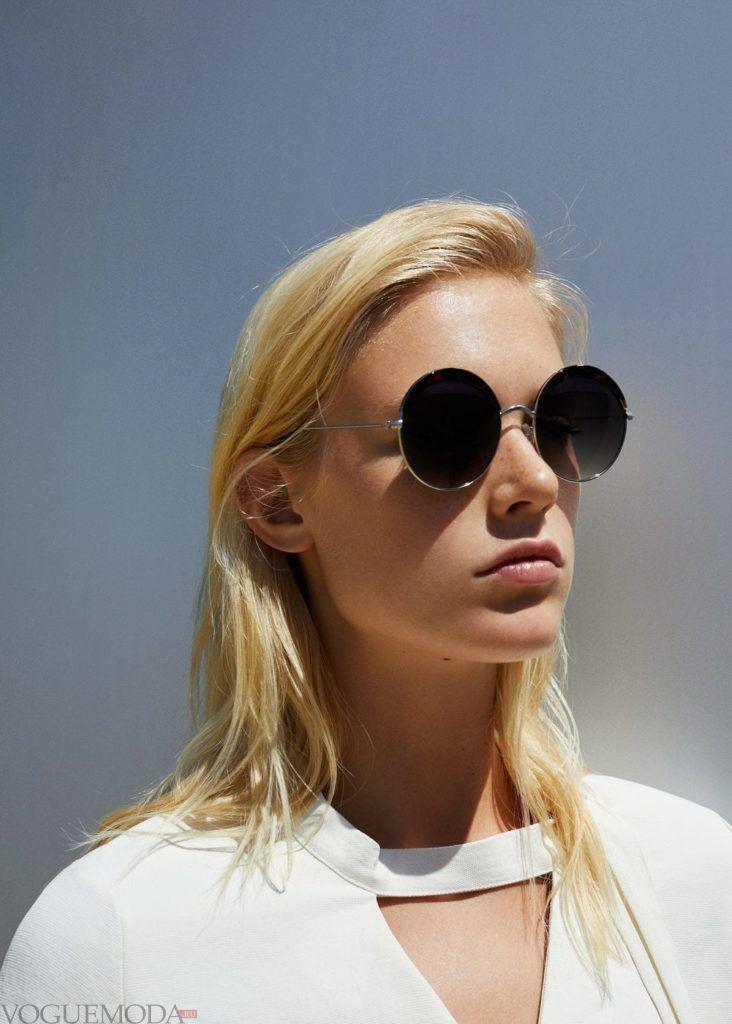 базовый гардероб очки круглые