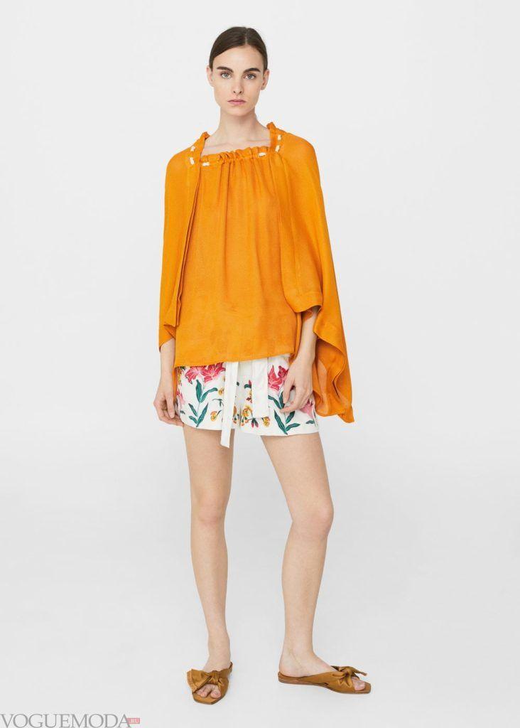 базовые вещи для женского гардероба: туника жёлтая