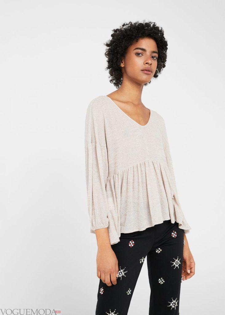 базовые вещи для женского гардероба: туника пудра