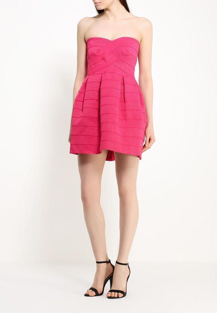 летнее платье пышное