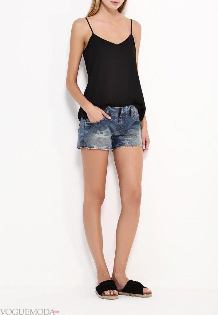 летние шорты джинсы