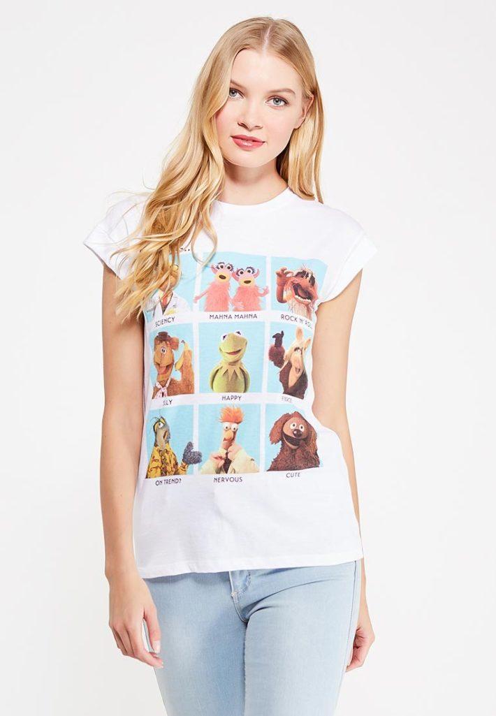 летняя футболка с изображением