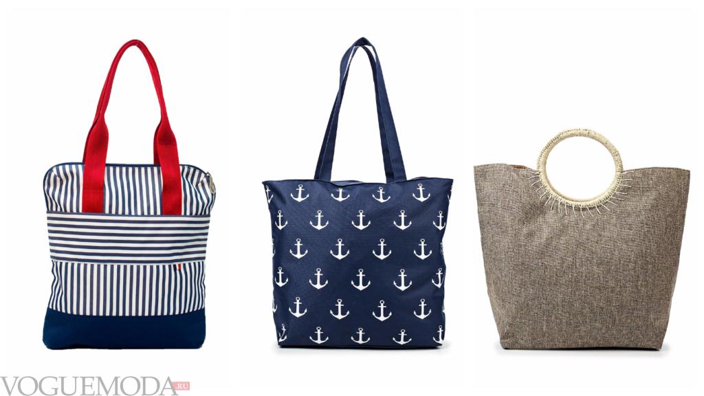летние сумки из ткани
