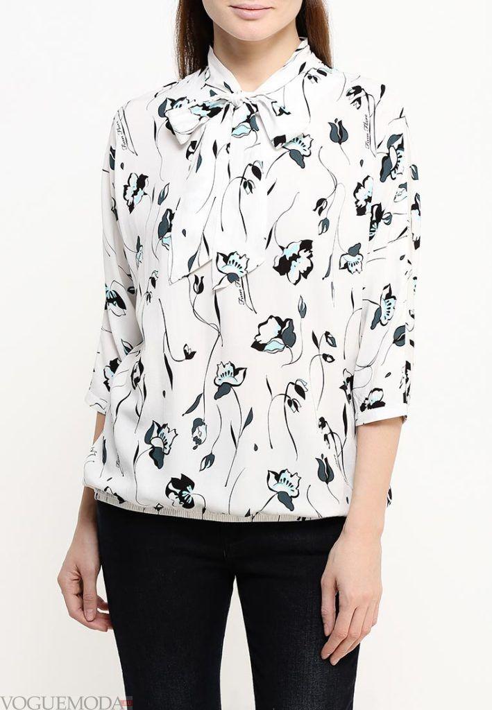 блузка с узором