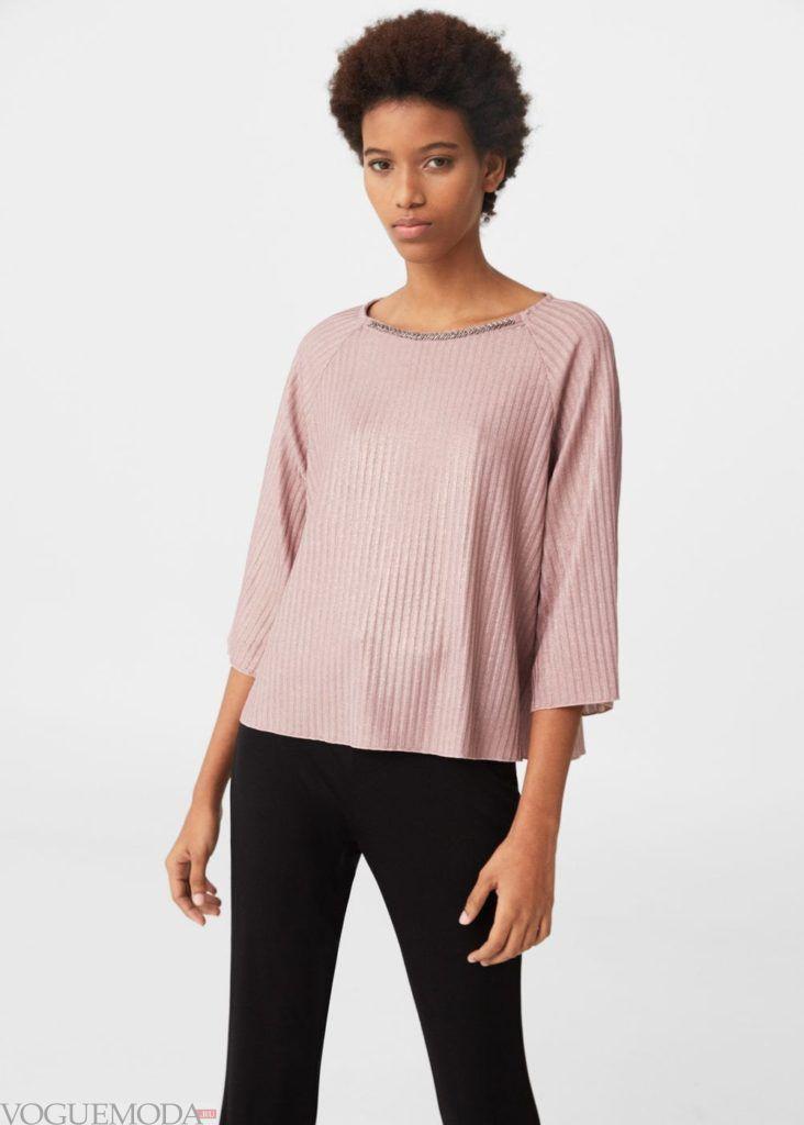 блузка пудра